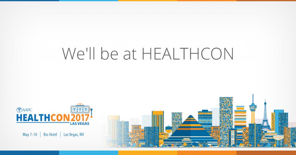 healthcon MedKoder, LLC at AAPC's Healthcon 2017 Healthcon 17 Exhibitor Graphics For Social  1
